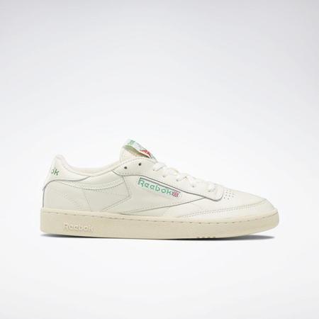 Reebok Club C 1985 shoes - Chalk/Paperwhite/Green