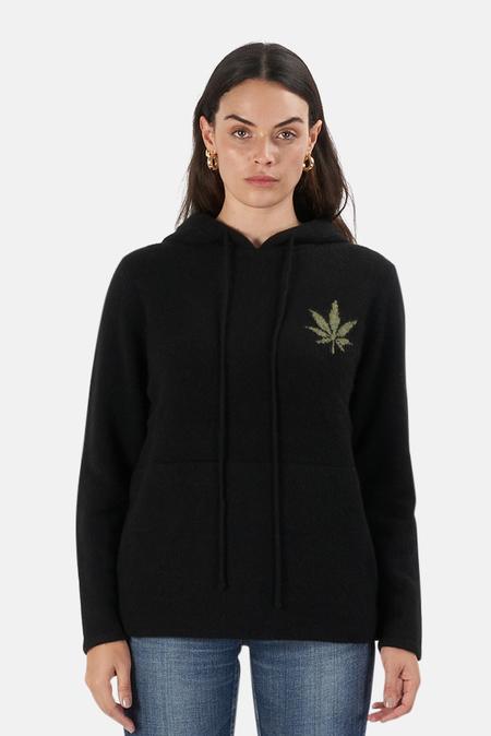Harden x Blue&Cream Leaf Hoodie Sweater - Black/Green
