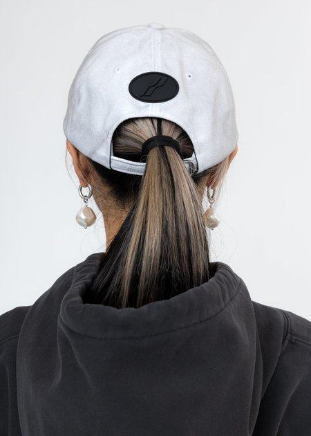 we11done Pearl Logo Cap - white