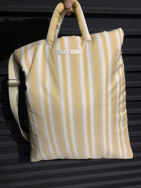 Our Legacy Padded Pillow Tote - Gradient Yellow
