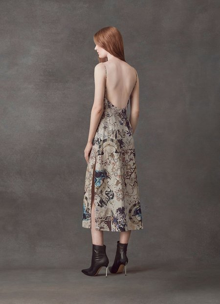 Leo and Lin The Lover Cotton Linen Slip Dress