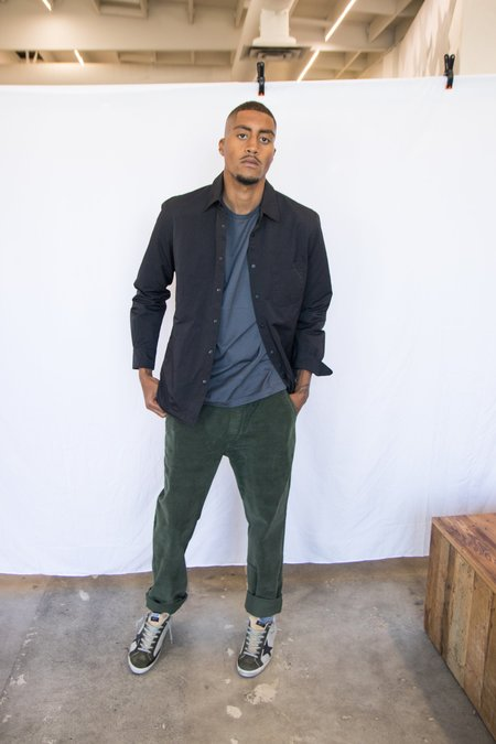 Aspesi Nylon Shirt Jacket - Black
