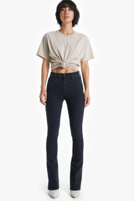 Mother Denim High Waisted Runaway Jeans -  Who's Sorry Now