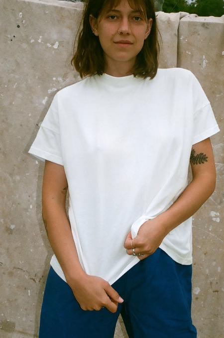 Mimi Holvast Big Tee - Off White