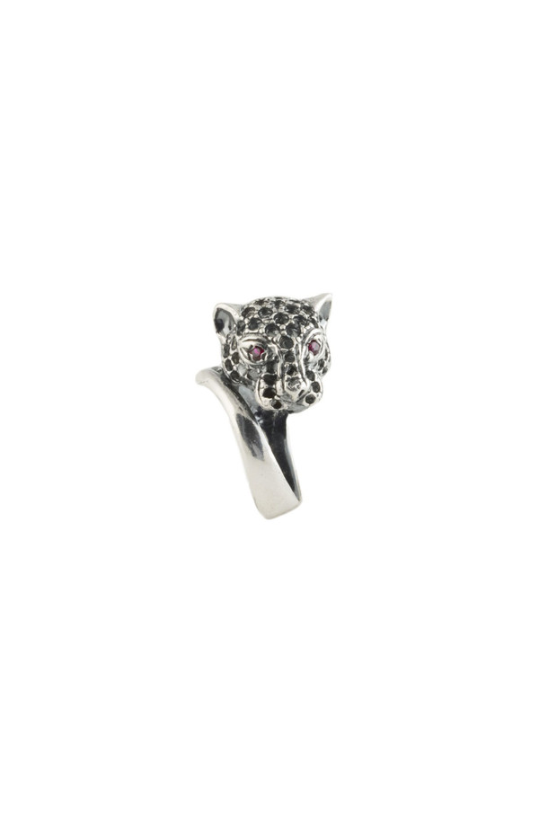 Iosselliani Panther Ring