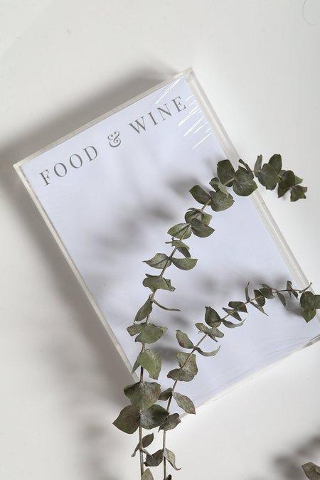 Printed Matter Food & Wine Notepad