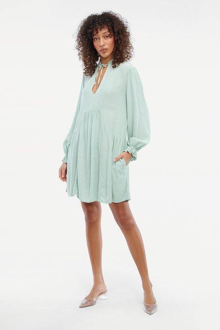 Lacausa Mariposa Mini Dress - Jade