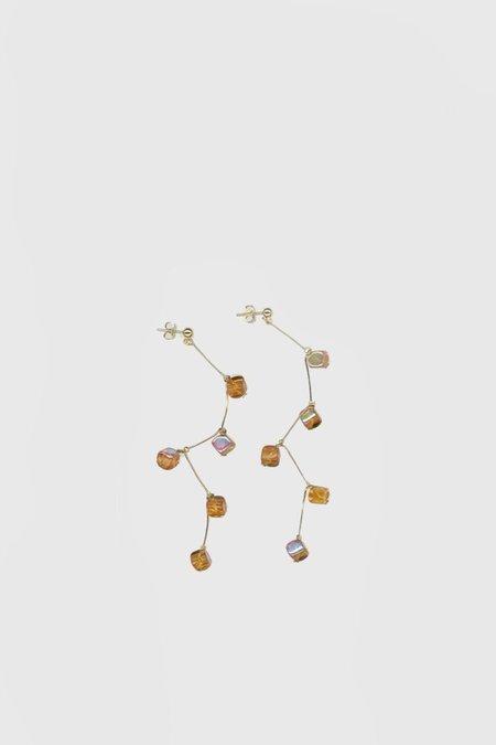 Paloma Wool Dominica Earrings - Orange