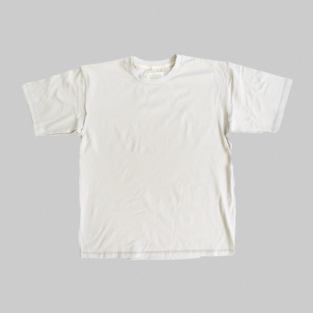 Reborn Garments Double Inside Out Tee Shirt - Smoke