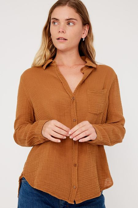 Lacausa Luxe Nash Button Up - Reishi