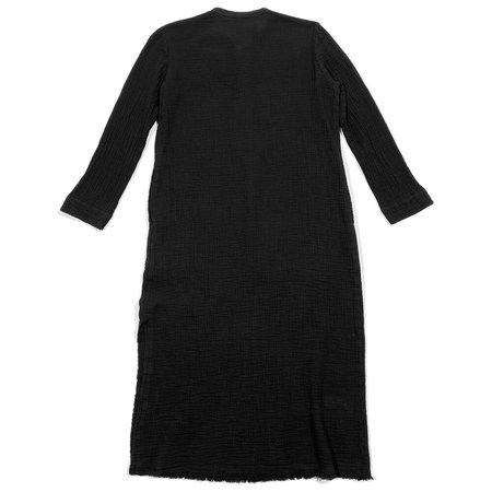 Raquel Allegra Henley Dress - Black