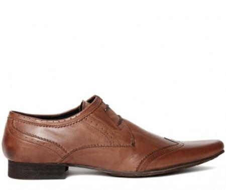 Hudson London Ellington New Dye Shoe - Tan