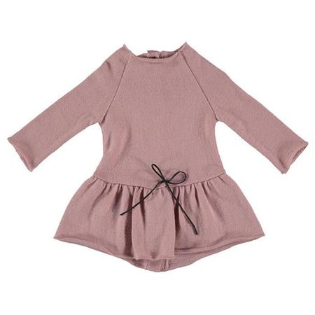 KIDS Pequeno Tocon Baby Rulo Dress - Pink