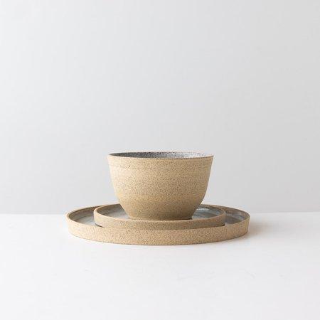 Valérie Pelletier 3-Piece Dinnerware Set - Speckled Stoneware
