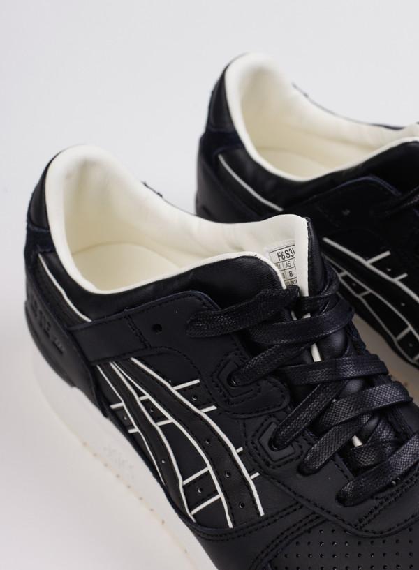Men's ASICS Gel-Lyte III Black/Black H6S3L