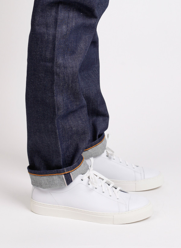 Men's Norse Projects Two Jean Raw Indigo