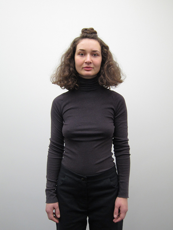 Lauren Manoogian Cashmere Rib Turtleneck, Dark Charcoal