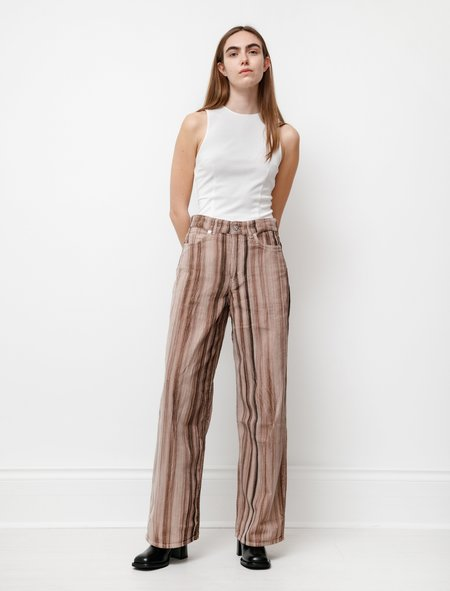 Our Legacy Full Cut pants - Hair Stripe Cord