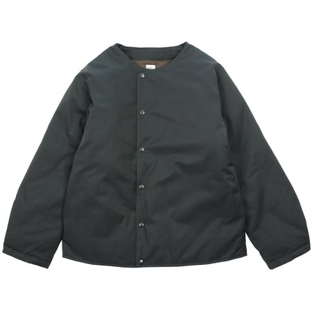 South2 West8 CREW NECK DOWN TWILL JACKET - GREEN