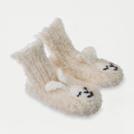 kids Ariana Bohling Baby Alpaca Slipper - Lamb