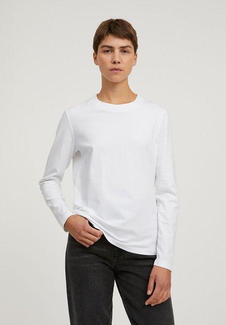 Armedangels Organic Cotton Longsleeve - White