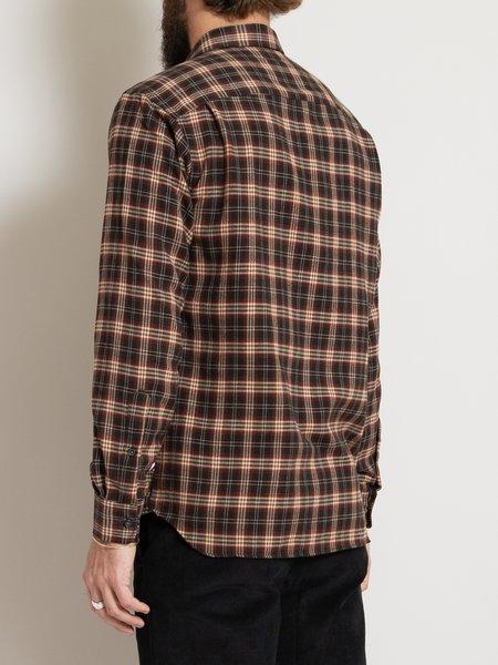 Freemans Sporting Club CS-1 Shirt - Brown Plaid
