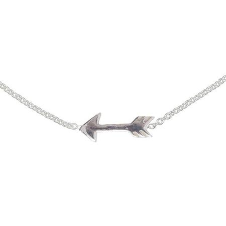 Advice From A Caterpillar Lennebelle Petites Woman Necklace You Give Me Direction - Silver