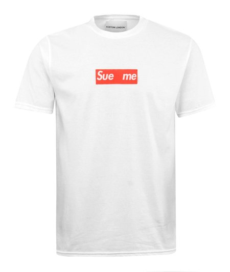 Kustom London Sue Me T-Shirt - White