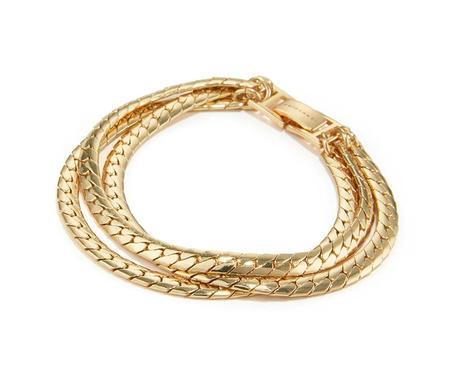 Jenny Bird Priya Strand Bracelet - High Polish Gold
