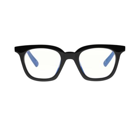 The Book Club THE SNATCHER BLACK TIE eyewear - BLACK