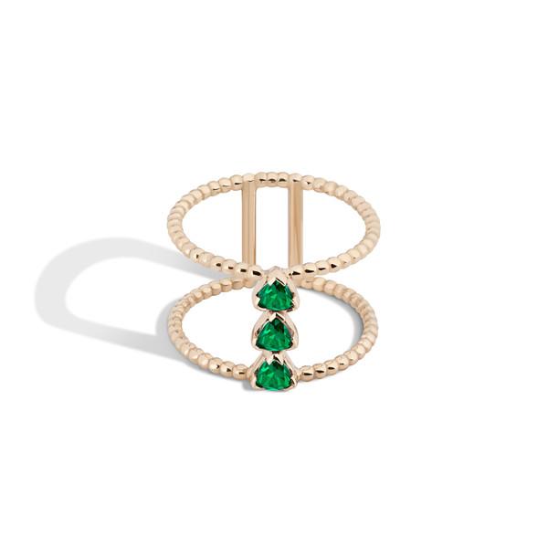 Shahla Karimi 14K Gold Birthstone Ring No. 4