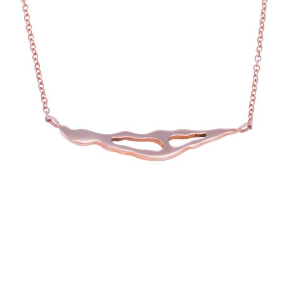 Shahla Karimi Paris Lake Pendant Necklace