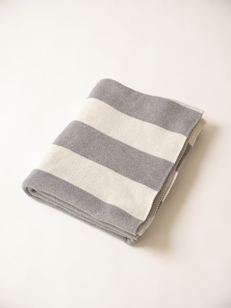 Magill Rugby Blanket - Grey/Cream