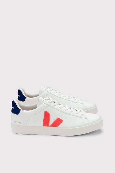 Unisex Veja Campo Chromefree Leather Sneakers