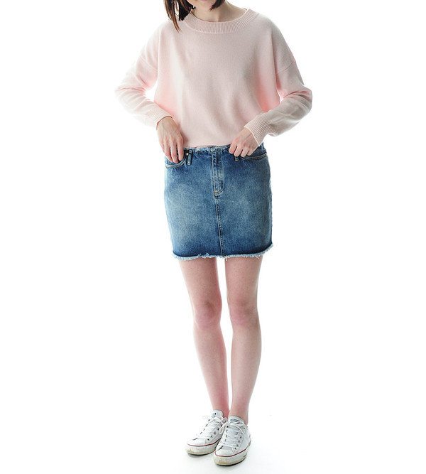 Won Hundred Brienne Denim Skirt