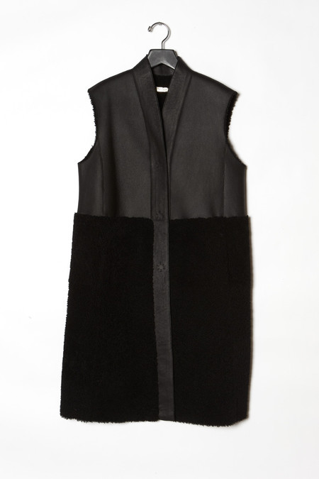 Anne Vest Half and Half Mid Waist Coat