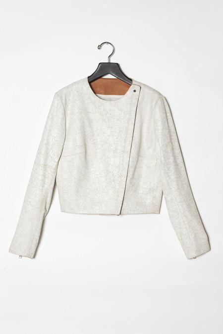 KES New Minimal Leather Jacket