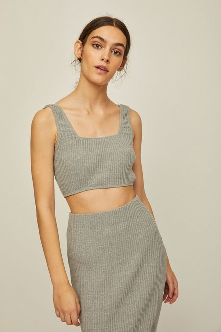 Rita Row Nus Rib Knit Crop Tank