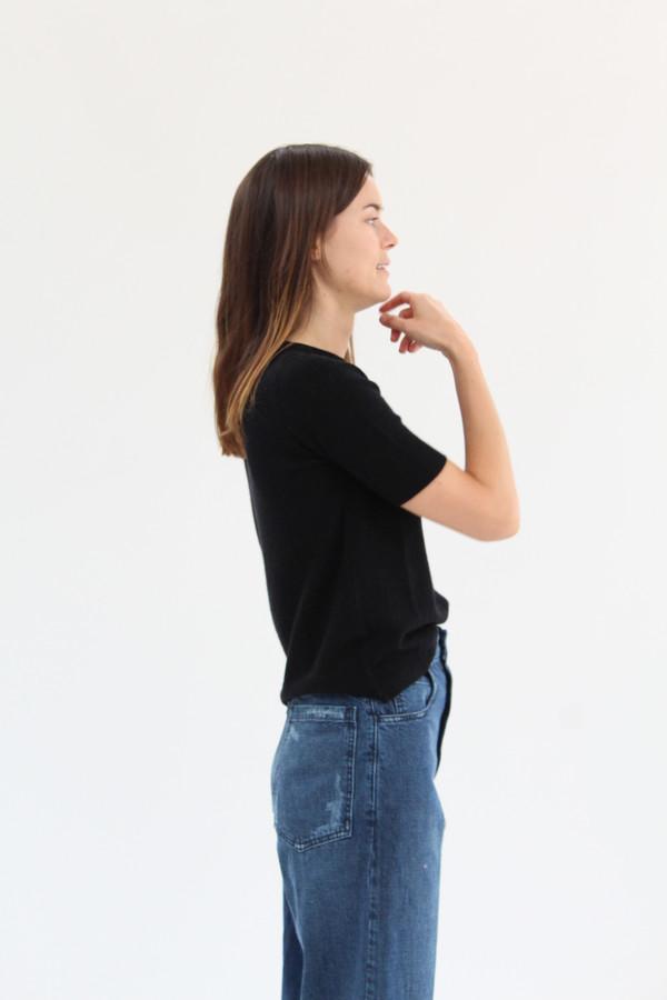 Beklina Cashmere Top Black