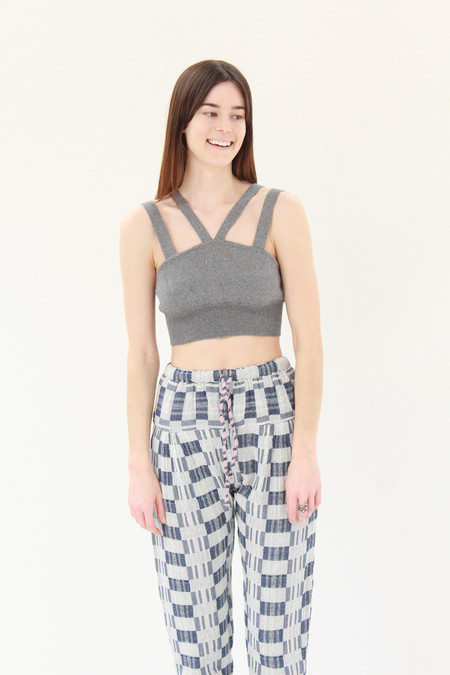 Diarte Devon Knit Top Grey