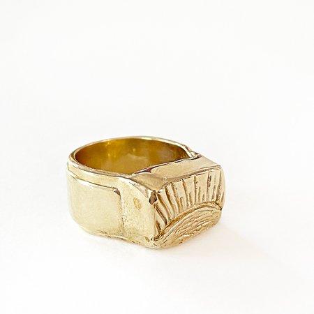 Melissa De La Fuente Sun Ring - Gold