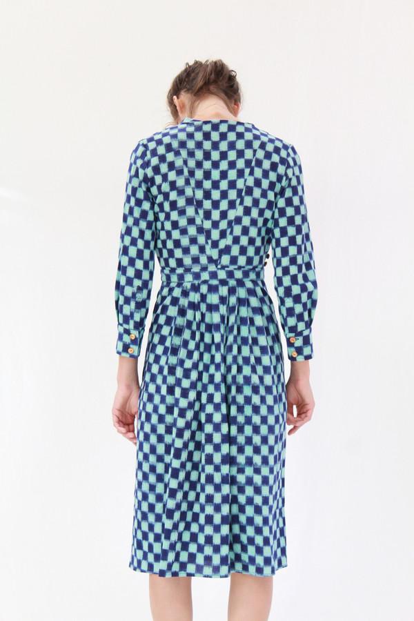 Heinui Octave Dress Ikat