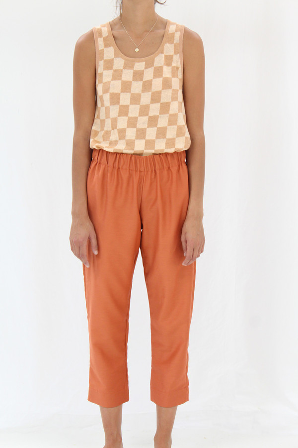 Beklina Basic Pant Clay