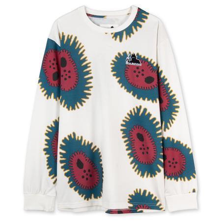 Real Bad Man Amoeba Long Sleeve T-shirt - Cream