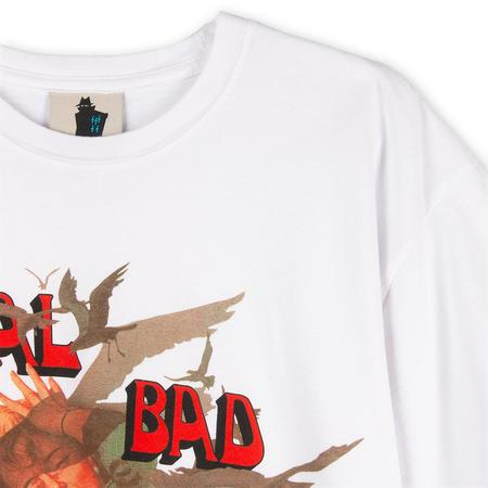 Realbadman Attach of the Avian Dinosaurs T-shirt / White
