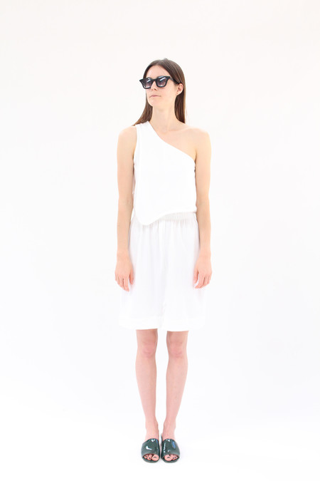 Beklina Falls Dress White