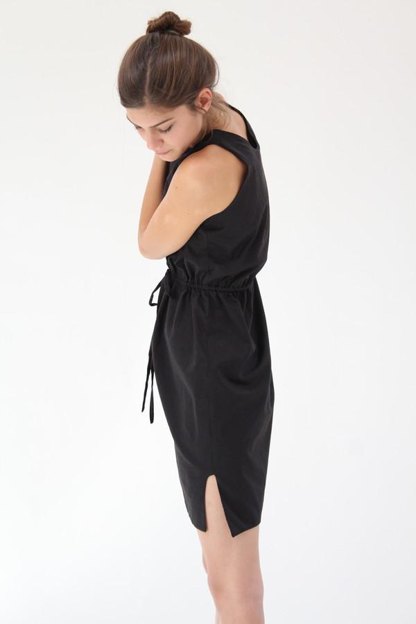 Beklina Hoda Tie Dress Black