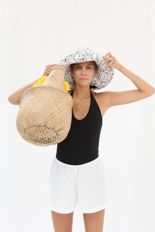 Beklina Topless Wide Hat Post Print