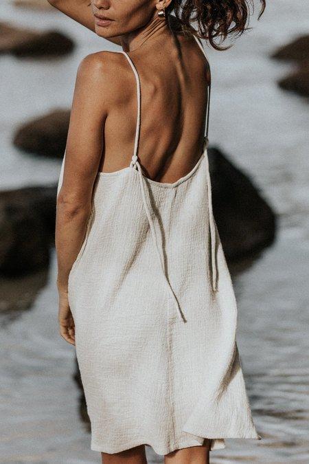 BAHHGOOSE Short rose dress