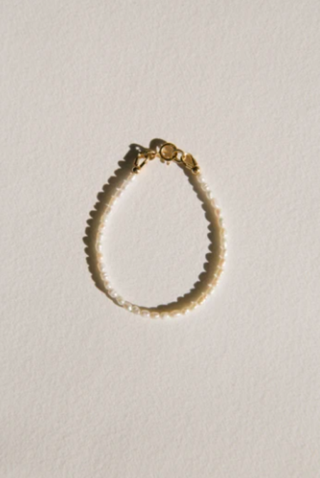 Vermeer Studio Lillie Bracelet - 14K gold filled/pearls